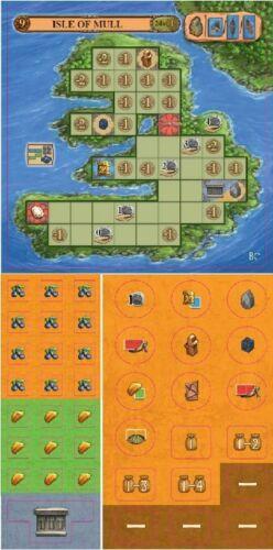 2 îles Extension-Jeu-de Feu-Neuf dans sa boîte Un festin pour Odin