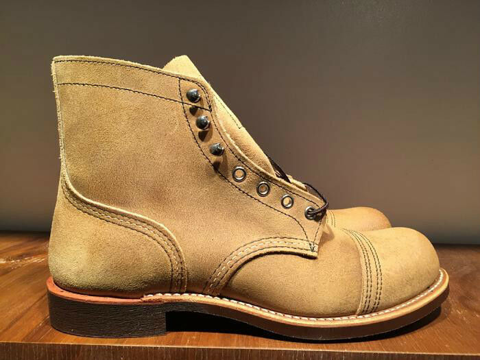 RED WING IRON RANGER BOOT HAWTHORNE MULESKINNER LEATHER 8083 8083 8083 MADE IN THE USA 2055e6