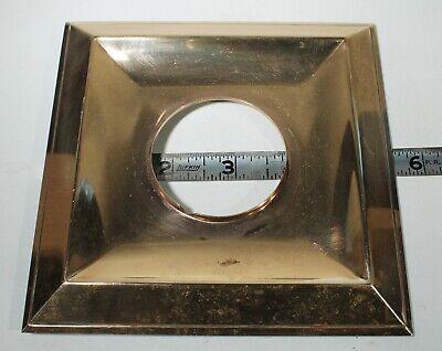 Vintage Mid Century Brass Key Hole