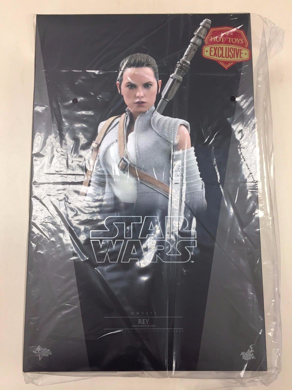 autentico en linea Hot Toys MMS 377 Star Wars Rey (resistencia Outfit) Outfit) Outfit) Daisy Ridley Figura Nueva  calidad de primera clase