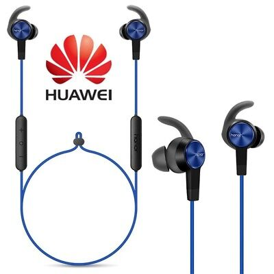 c1a74290ae5 Details about BRAND NEW HUAWEI HONOR SPORT BLUETOOTH STEREO EARPHONES WITH  MIC AM61 BLUE
