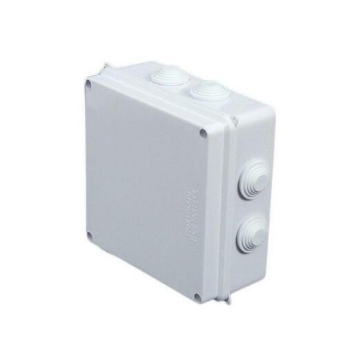 Boîte de jonction étanche extérieur adaptable Boîtier Électrique Terminal Cable Case