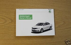 SKODA RAPID HANDBOOK OWNERS MANUAL  2012 2015 BOOK 1697 - horley, United Kingdom - 14 days back to base, buyer will pay for both postage, unless wrong item has been posted out ( not same item as pictured). Most purchases from business sellers are protected by the Consumer Contract Regulations 2013 which give you - horley, United Kingdom