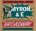 Broadway [Digipak] by Myron & E (CD, Jul-2013, Stones Throw)