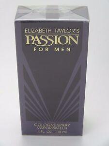 Detalles de Elizabeth Taylor Passion para hombre 118ML Colonia Spray ver título original