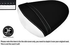 STYLE2 BLACK WHITE VINYL CUSTOM FOR SUZUKI GSXR 1000 K7 K8 07-08 REAR SEAT COVER