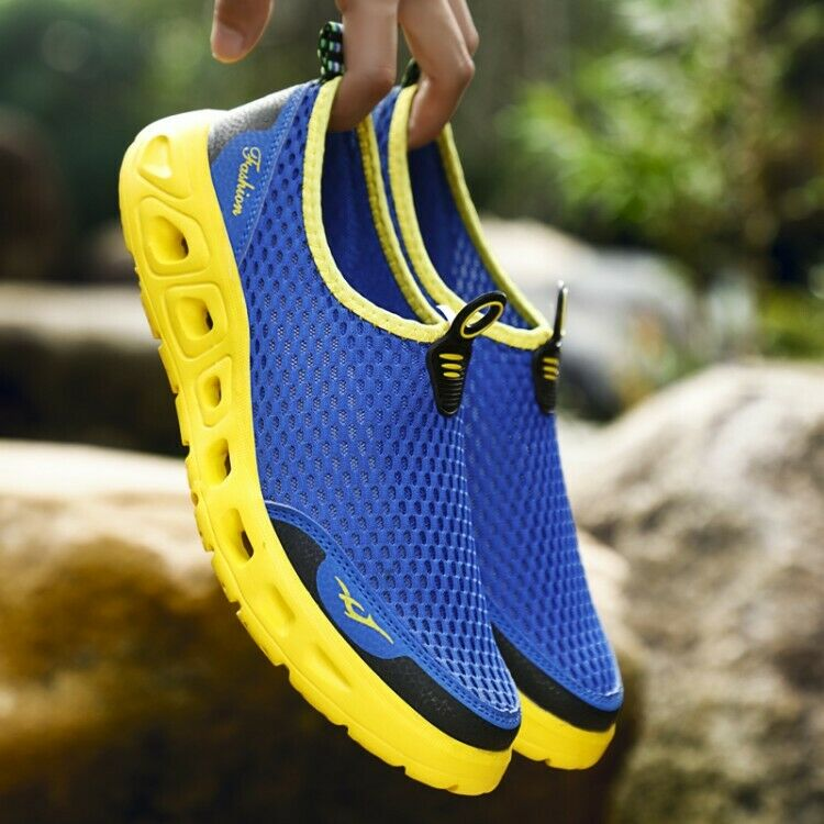 Mens Summer Beach Outdoor Swimming Casual Running Hiking Casual shoes Flats size