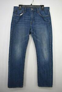 American Eagle Outfitters Men Straight Leg Cotton 5-Pocket Denim Jeans 32/30