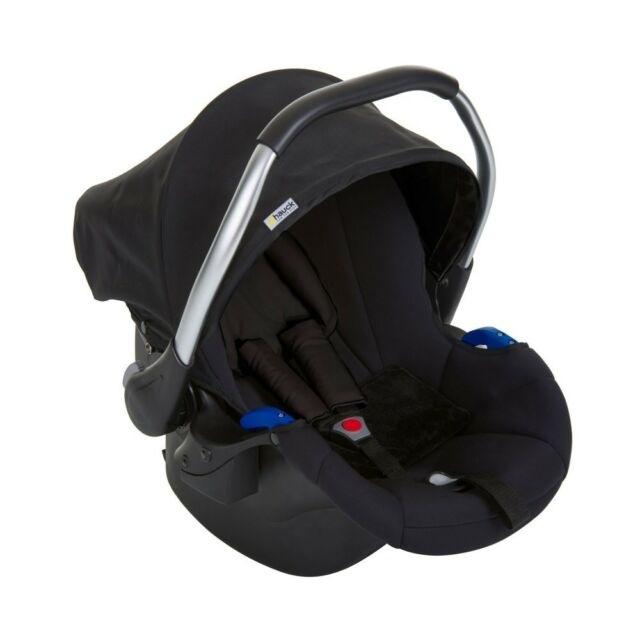 NEW Hauck Comfort Fix Car Seat Group 0 Black To Fit Duett 2
