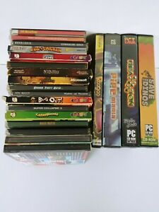 Lot-of-20-Various-PC-CD-ROM-Games-Roogoo-bug-out