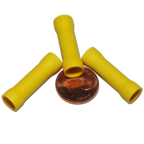 Quetschverbinder Gelb für 4,0-6,0mm² Kabel 50 Stossverbinder Kabelverbinder