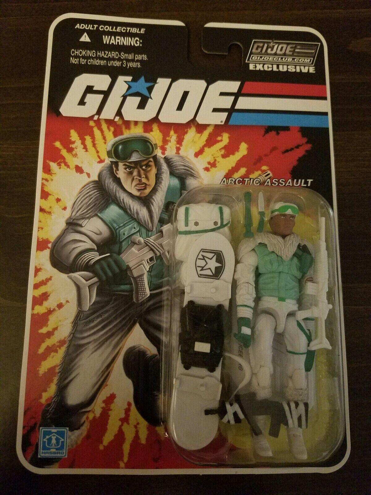 G.I. Joe Club De Coleccionistas Exclusivo iceberg menta en tarjeta