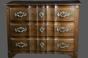 "Nouvelle Mode Commode Arbalète Louis Xiv / Chest Of Drawers ""crossbow"" Louis Xiv"