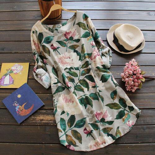 Women/'s Boho Floral Print Cocktail Mini Dress Summer Party Long Shirt Dress Lot