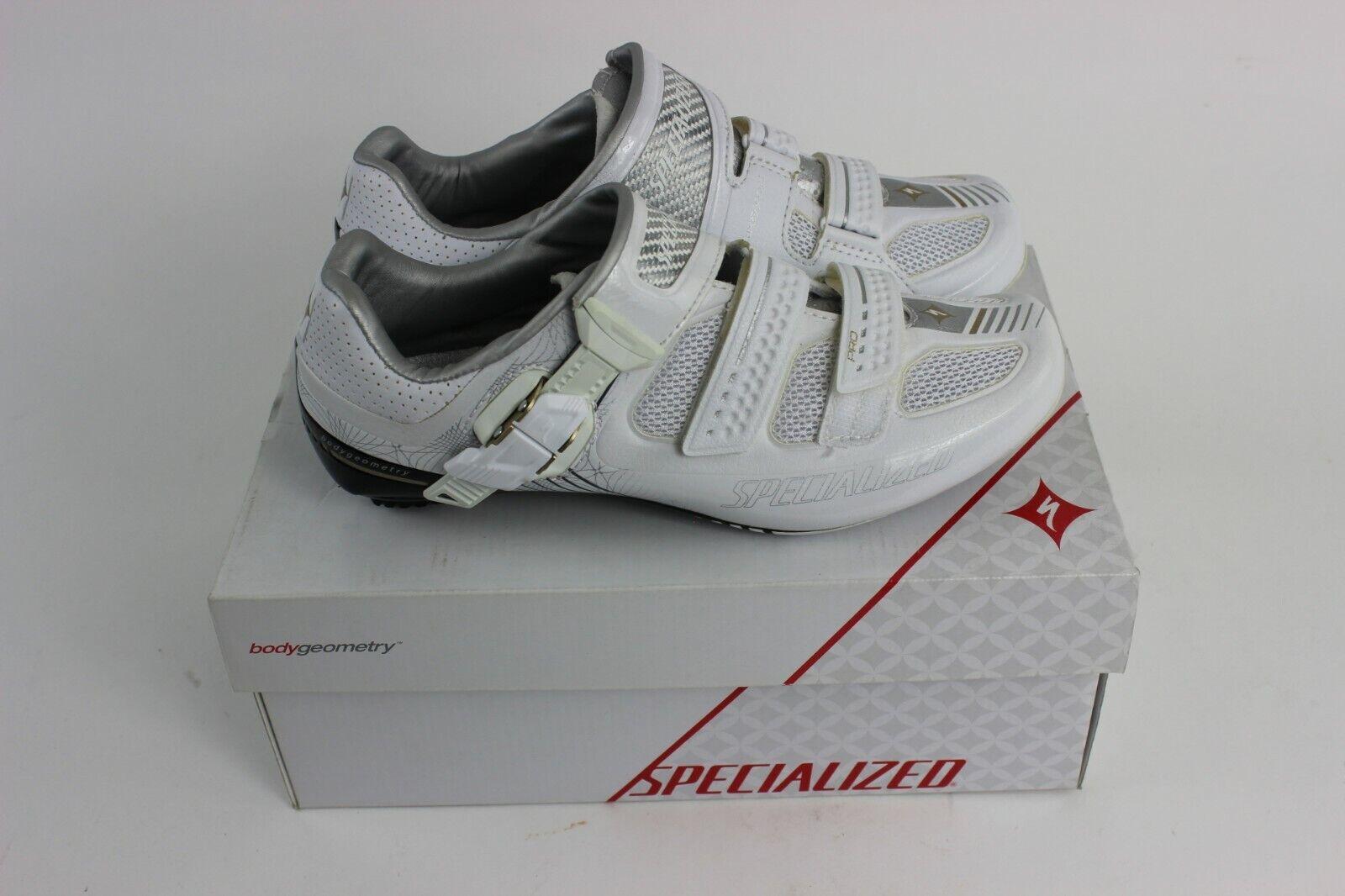 New Specialized Pro Road Women's Cycling shoesWhite, 38.5 EU   7.5 US