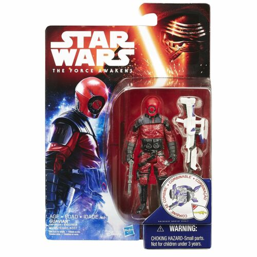 """Star Wars The Force Awakens 3.75/"""" Figure Space Mission Guavian EnforcerB4165"""