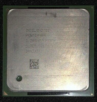 Intel Pentium 4 3.2 GHz 1M//800MHz CPU Socket 478 SL7PN SL7E5