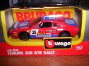 FERRARI-303-GTB-RALLY-1982-BURAGO-SCALA-1-43