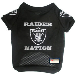 Oakland-Raiders-NATION-NFL-Pets-First-Licensed-Dog-Pet-Mesh-Jersey-XS-XL-NWT