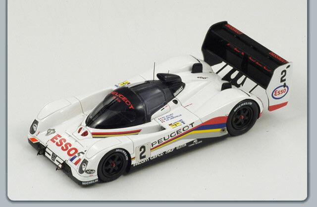 Peugeot 905  2 3Rd Le Mans 1992 Baldi-Alliot-J.P.Jabouille 1 43 Spark S2595