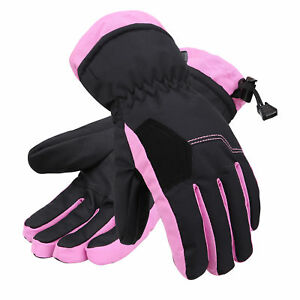 a7b1a2d5b Image is loading Kids-Children-3M-Thinsulate-Warm-Winter-Ski-Gloves-