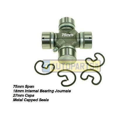 Land Rover Defender 127 130 Rear HD Propshaft UJ Universal Joint 75mm 27mm Cups