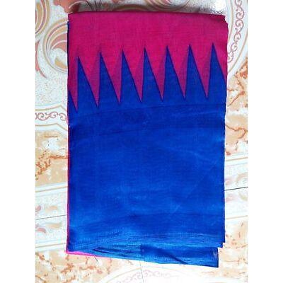 A1 Creation Printed Party wear Indian Saree Fabric Bhagalpuri Silk Saree Blouse