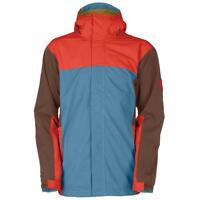 Bonfire Mens Emerson Snowboard Jacket Large Winter Blue