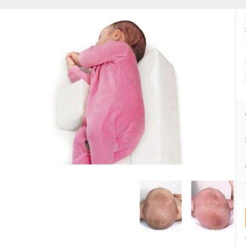 Schlafen Positioner Dreieckig Baby Plattkopf Kopfkissen gegen Verformung Schwamm