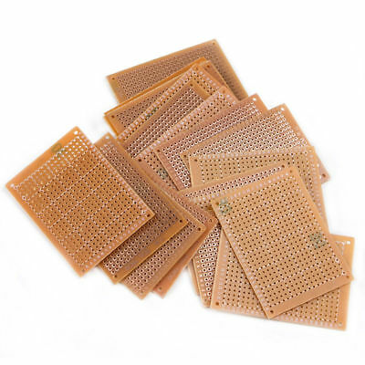 5//10//20pcs Bakelite Circuit Board DIY Prototype Single Side Copper PCB Board New