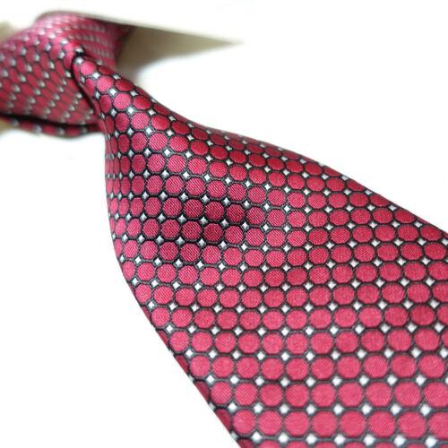 "Extra Long Microfibre Necktie Burgundy Classic Woven Polyester XL Men/'s Tie 63/"""