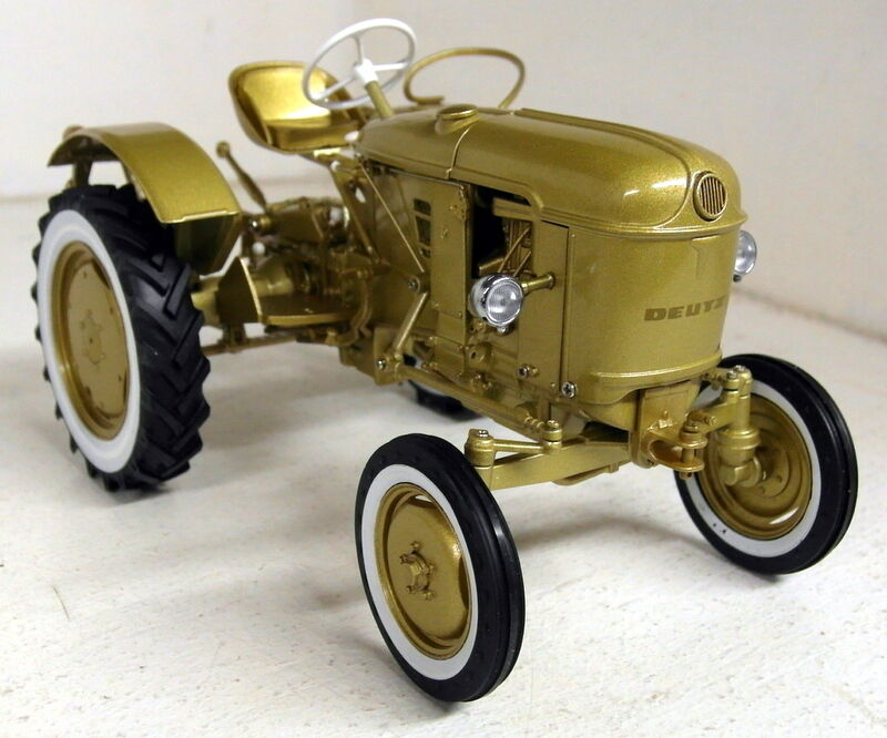UH 1 16 Échelle 5210 DEUTZ D15 or Edition 1000 pcs Diecast Modèle tracteur