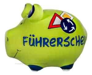 Kcg Sparschwein Fuhrerschein Grun Geldgeschenk Auto 18 Spardose