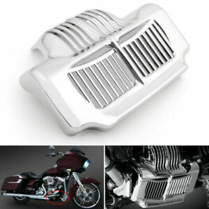 Black Stock Oil Cooler Cover for Harley Touring Electra Road Street Glide 11-15