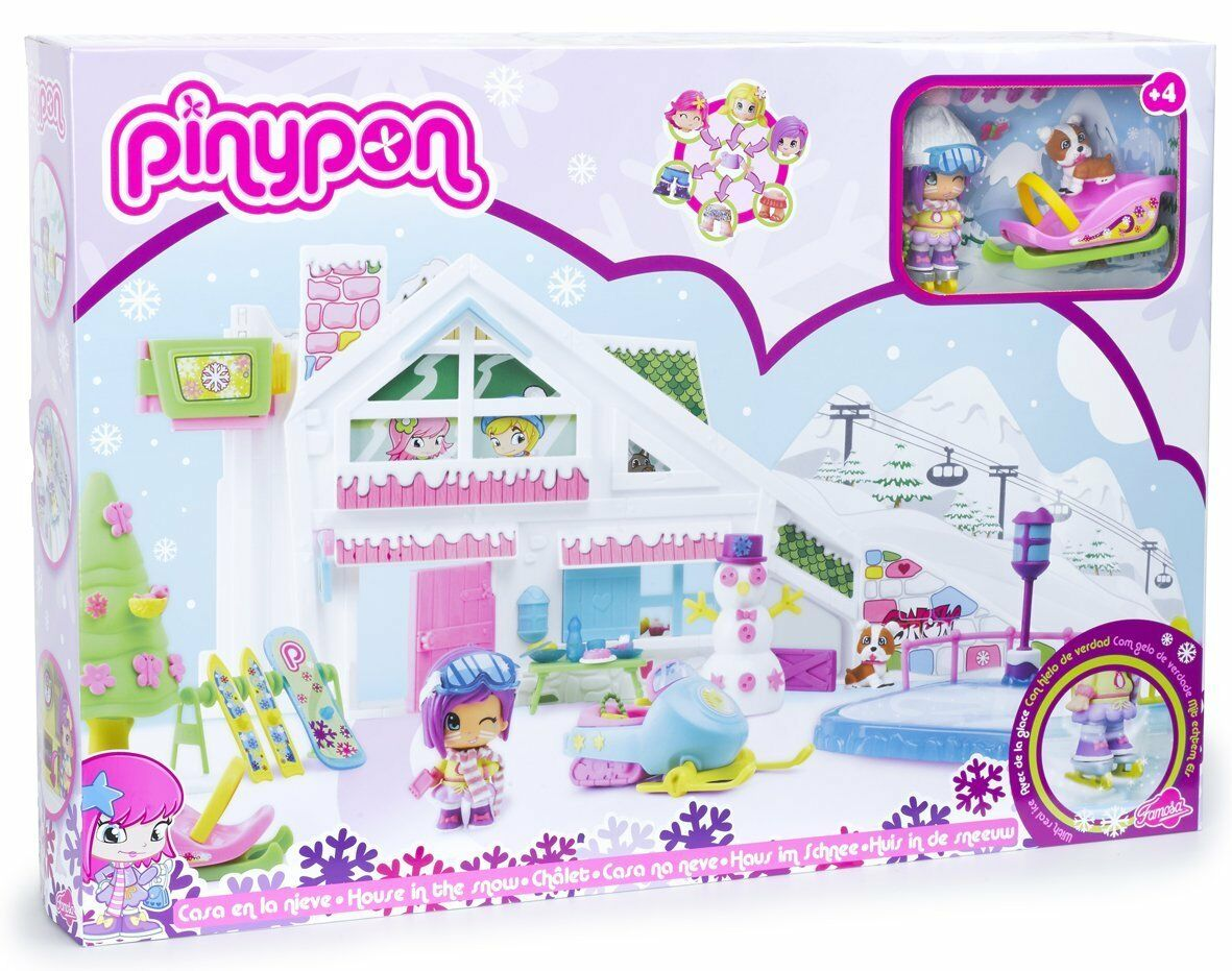 Famosa 700009684 Pinypon - Casa en la Nieve - New Sealed