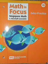 Houghton Mifflin Harcourt Math in Focus Extra Practice, Book B 1st Grade Level 1