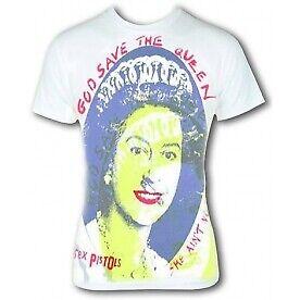 "Sex Pistols /""sauver son/"" Men/'s Small T-Shirt-Blanc"