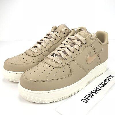 where can i buy best quality sleek Nike Air Force 1 Retro Men's 12 Premium 941912-200 Mushroom/Sail ...