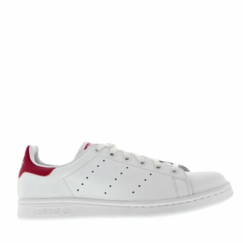Adidas Stan Smith White Leather Girls Boys Youths Trainers Sneakers