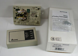 s-l300  Stage Heat Pump Thermostat Wiring on for white rodgers, goodman package, rth3100c honeywell, old honeywell, single stage, using 6 wires,