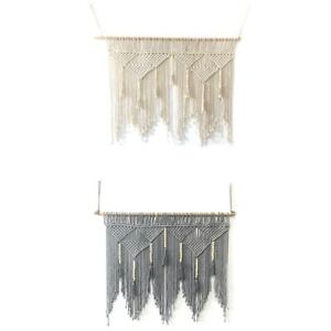 Macrame-Wall-Hanging-Handwoven-Bohemian-Cotton-Rope-Boho-Tapestry-Home-Deco-F2C3