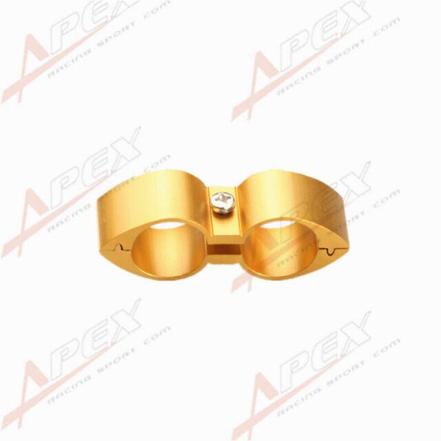 6AN AN6 ID 14.2mm Billet Fuel Golden Hose Separator Fittings Adapter