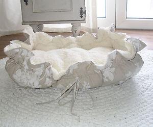 Snuggle * oase * Lit pour chien avec roses Oreiller pour chien Oreiller pour chat