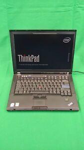 Details about refurb Lenovo T61 Thinkpad Intel Core 2 Duo T7100 320GB HDD  4GB Ram Linux Mint