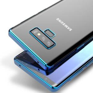 b8f91bbd47c Luxury Clear Back Case For Samsung Galaxy Note 9 8 Silicone Crystal ...