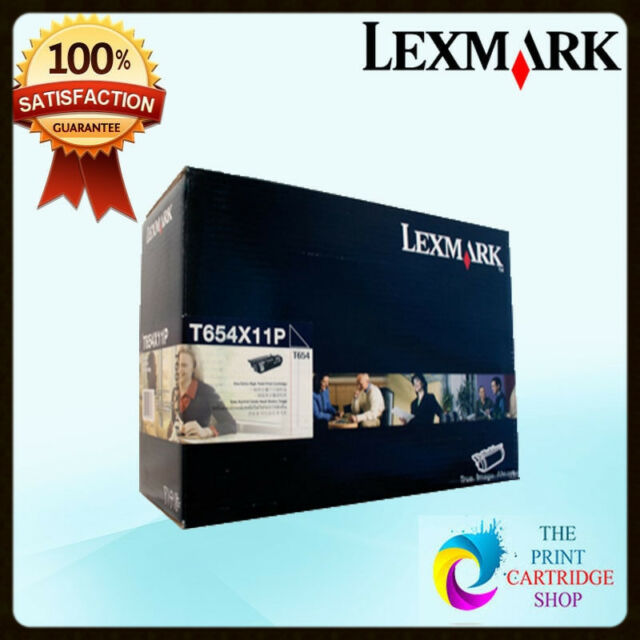 Genuine Lexmark T654X11P Black Toner Cartridge T656 T654 T654DN T654TN 36K Pages