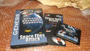 Sega Genesis / MegaDrive Space Flies Attack Game 2021