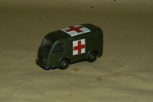DINKY-TOYS-MECCANO-Ambulance-militaire-80-F