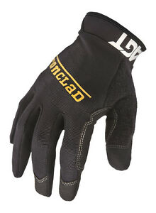 Ironclad-Black-Men-039-s-Medium-Synthetic-Leather-Work-Gloves