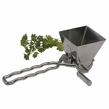 Kitchen Craft Master Class Deluxe Stainless Steel Herb Mill / Mint Cutter Grater